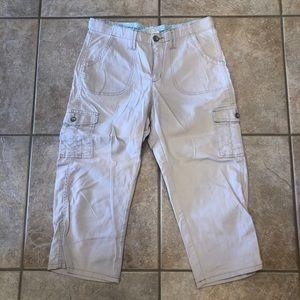 Lee comfort waistband capris